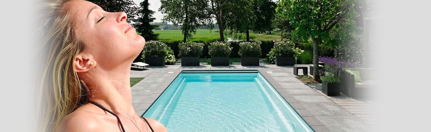 Een inbouwzwembad plaatsen asko ensemble for Zwembad plaatsen in tuin