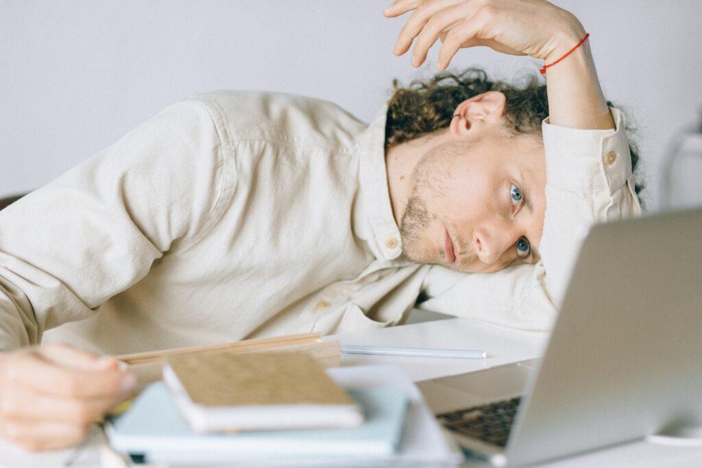 ziek door stress